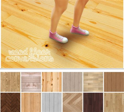 Cc Flooring by Linacherie 12 Wood Floor Converted From Ts2 Sims 4