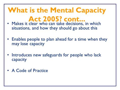 section 44 mental capacity act whose business is it whose business is it ground rules