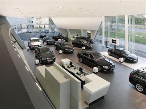 audi dealership inside audi redefines dealership architecture psfk