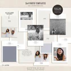 3x4 note card template 4x6 photo templates vol 6 by paislee press