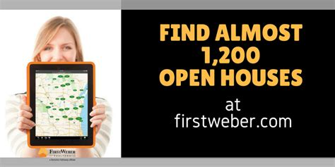 Open House Finder by Find Almost 1 200 Open Houses This Week From Brokers Across The State At Firstweber