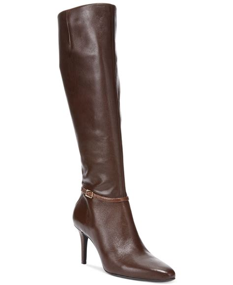 womens dress boots cole haan s garner dress boots in brown lyst