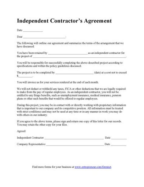 general contractor contract template template design