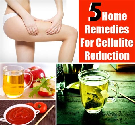 5 surprising home remedies for cellulite reduction diy