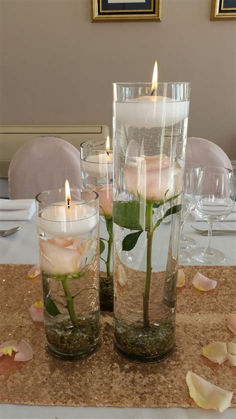 25 best ideas about cylinder centerpieces on pinterest