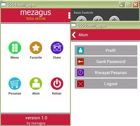 membuat aplikasi toko online android aplikasi toko online android ecommerce mobile berbasis