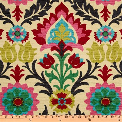 home decor designer fabric waverly santa maria desert flower discount designer