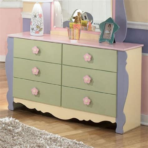 girls bedroom dressers ashley furniture girls pastel bedroom dresser sale
