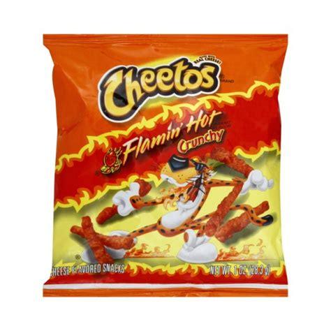 hot chips usa cheetos crunchy flamin hot 28 3g usa foods