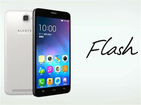 Hp Alcatel One Touch Plus Flash alcatel onetouch flash new selfie smartphone launched specifications price details