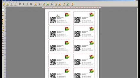 Visitenkarten Youtube by Visitenkarten Mit Qr Code Labeljoy Youtube