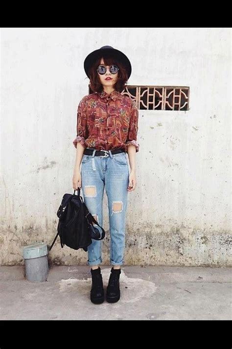 how to wear vintage for vintage industrial style estilodf 187 161 rebelde y chic con un look grunge