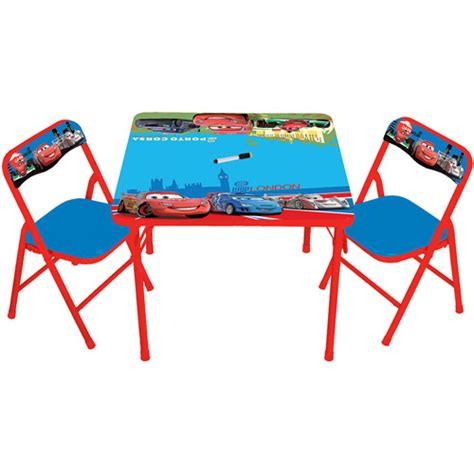 spongebob activity table and chair set disney cars 2 erasable activity table and chair set
