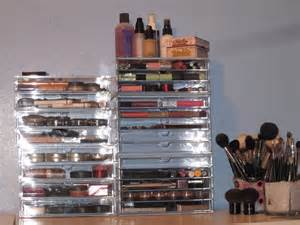 emoney429 muji acrylic makeup storage the clear cube dupe