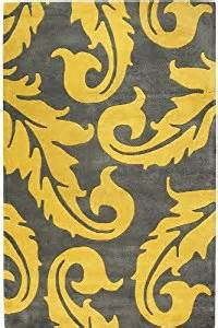 Yellow And Gray Kitchen Rugs Acanthus Area Rug I 2 X3 Grey Yellow Area Rug Sets