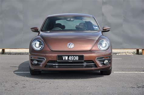 volkswagen beetle front view test drive review volkswagen beetle autoworld com my