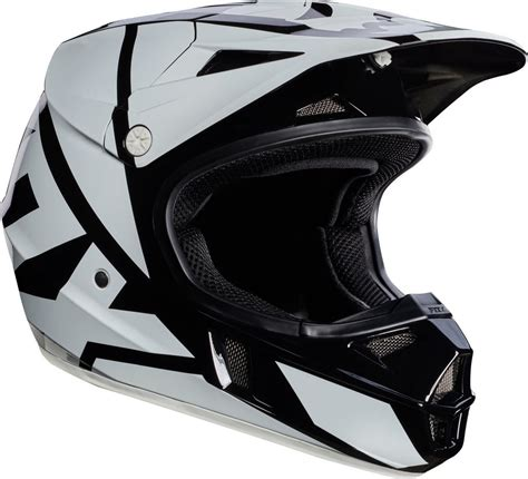 discount motocross 119 95 fox racing youth v1 race mx motocross helmet 995527