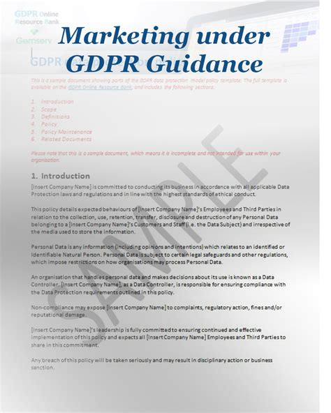 Gdpr Compliance Archives Forum Training Professional Development Data Retention Policy Template Gdpr