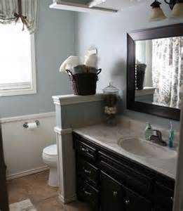 Decorating Ideas Half Wall Half Wall Bathroom Design Ideas Pictures Remodel And Decor