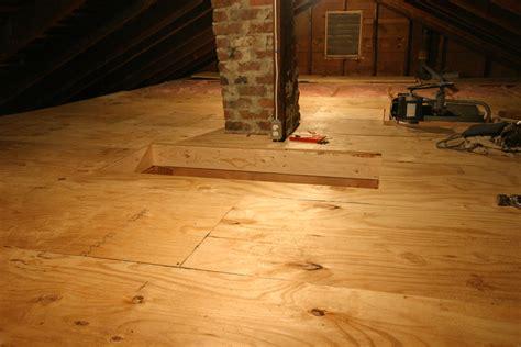 attic framing insulation plywood jkranz carpentry attic