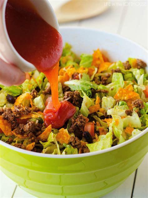 beef taco salad doritos taco salad life in the lofthouse