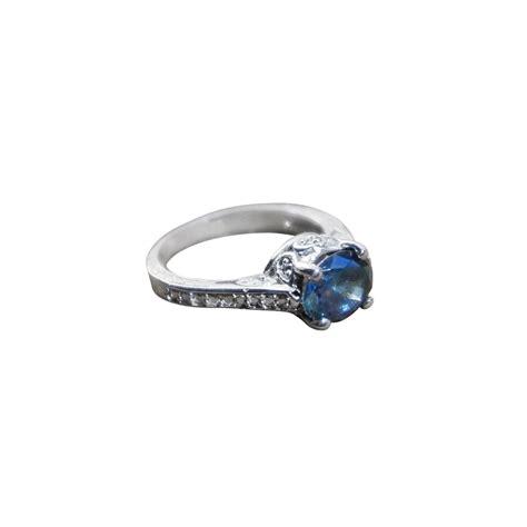 buy a custom made mystic topaz filigree engagement ring