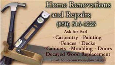 home repair business cards