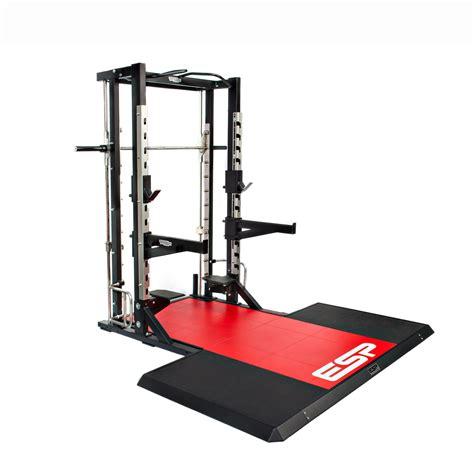 Half Rack Fitness by Lifting Platform For Technogym Half Rack Esp Fitness