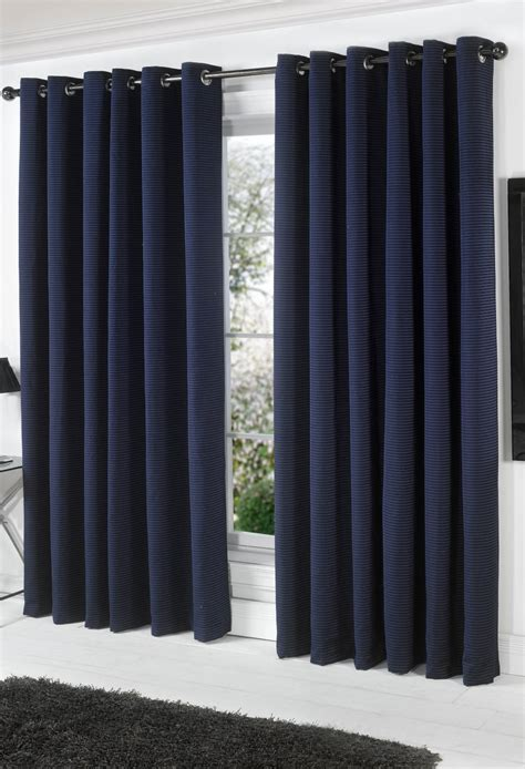 farnham navy lined eyelet curtains woodyatt curtains stock