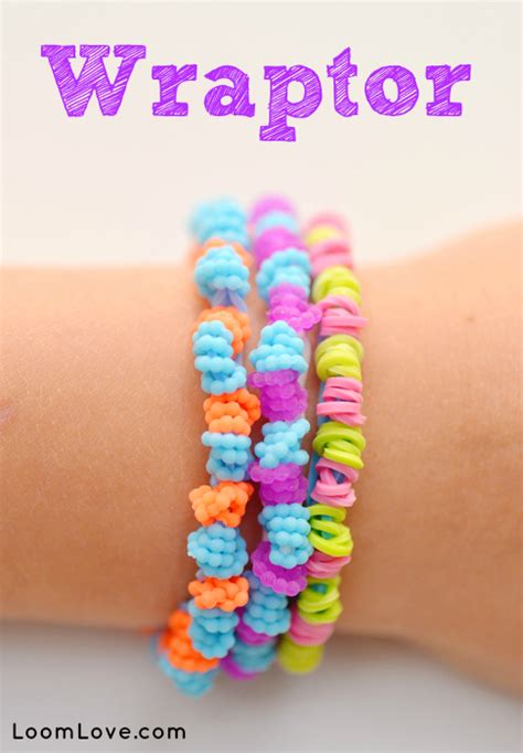 how to make loom bands with rainbow loom bracelet the wraptor from loomlove