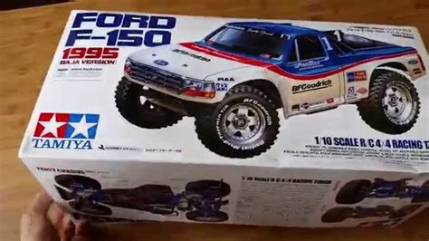Tru Mba Review by Tamiya Ford F 150 1995 Baja Rc 1 10 Scale Truck Unboxing
