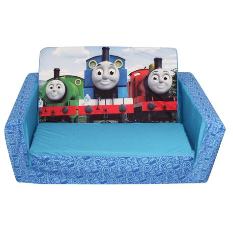 thomas the tank engine fold out couch thomas the train flip open sofa marshmallow 2 in 1 flip