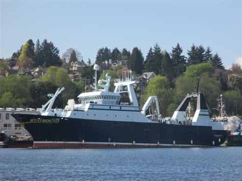 alaska fishing boat processors c p starbound aleutian spray fisheries catch processor
