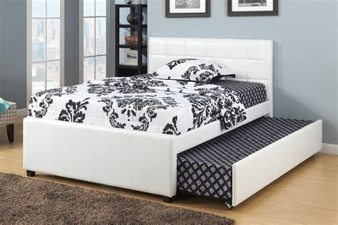 bed slats twin poundex furniture f9216t twin bed with 12 slats and trundle