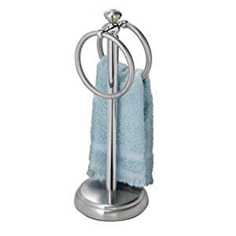 hand towel holder for bathroom amazon com interdesign york metal bathroom vanity