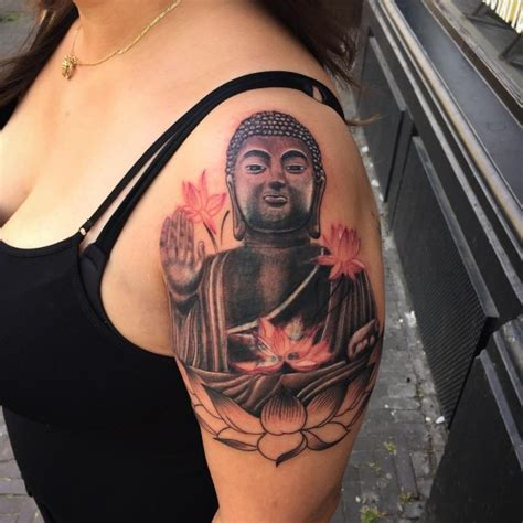 tattoo for girl com 60 meaningful buddha tattoo designs for buddhist and not only