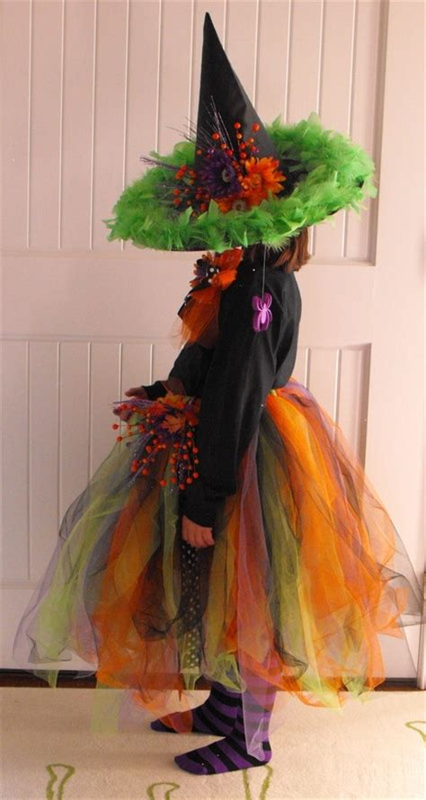 Handmade Witch Costume - adorable witch costume fall