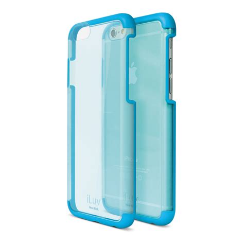 Iluv Iphone 6 iluv vyneer for iphone 6 6s blue ai6vynebl b h photo