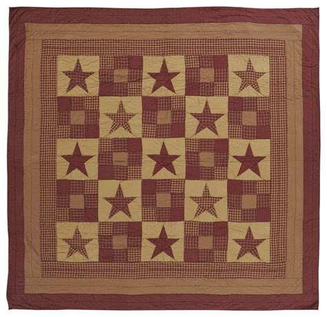 Rustic Quilts Ninepatch Quilt King Rustic Quilts And Quilt