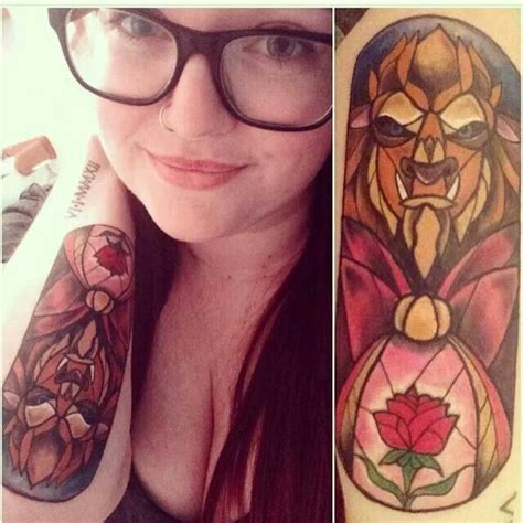 beauty and the beast tattoo ideas 160 best images about disney tattoos on
