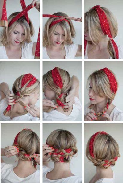 16 Beautiful Hairstyles With Scarf And Bandanna Pretty | 16 beautiful hairstyles with scarf and bandanna scarf