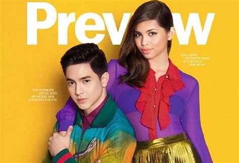 of aldub alden and maine in high fashion for november magazine