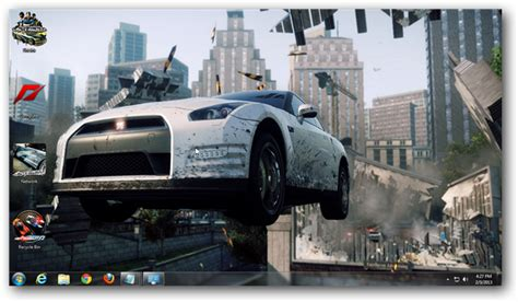 theme for windows 7 nfs most wanted need for speed most wanted theme for windows