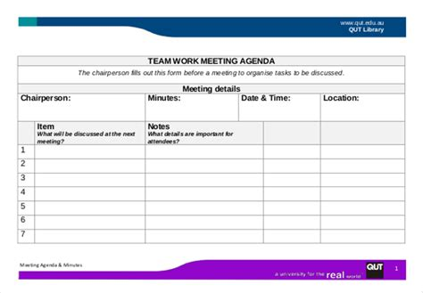 Work Agenda Template by A Complete Guide To An Agenda Free Premium