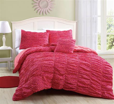 microfiber reversible mandy kaitlyn mini comforter set