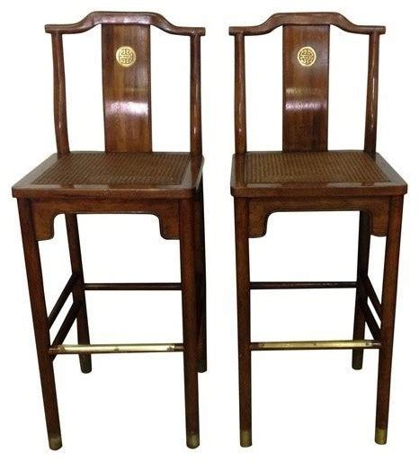 Asian Style Counter Stools by Pre Owned Asian Style Bar Stools Asian Bar Stools And