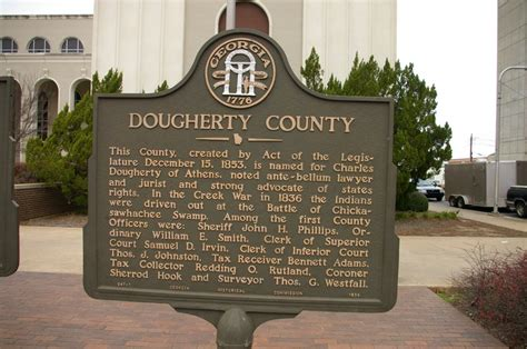Tag Office Albany Ga by Dougherty County Us Courthouses