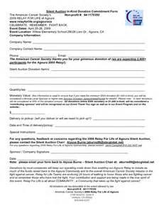 event sponsorship form template