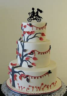 Wedding Cake Ride by Ride Away With Me Bicycle Themed Wedding Details Adore