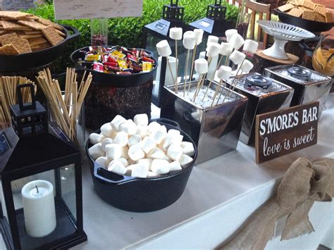 Candy Buffet Ideas For Bridal Shower by A Rustic Laguna Beach Wedding S More Bar Station With